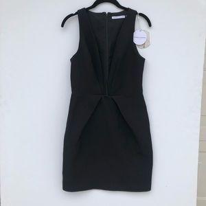 NWT Finders Keepers Deep V Black Mini Dress